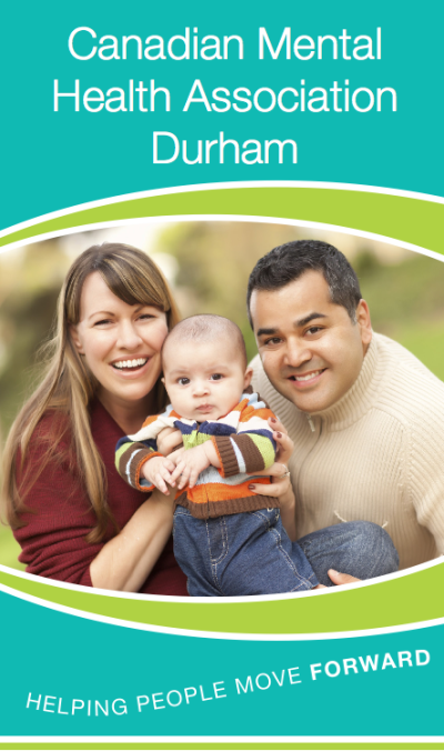 Canadian Mental Health Association Durham Brochure Cover