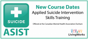 Course Dates: Applied Suicide Intervention Skills Training advert
