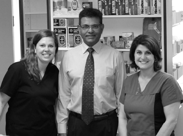 The staff of Bond Street Pharmacy