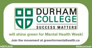 Durham College logo for Shine Green campaign