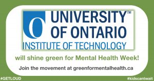 UOIT logo for Shine Green campaign